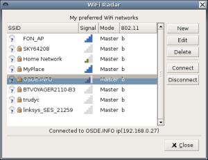 WiFi-Radar