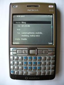 nokia e61i e61i-1 vox mobile symbian s60