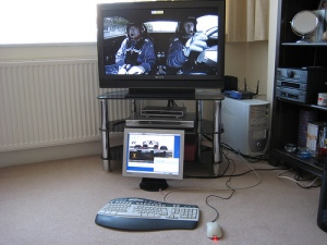 ITV1 F1 live timing setup