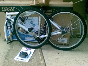 "TESCO £40 26"" bicycle"