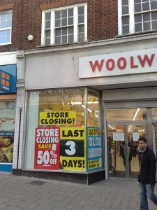 "woolworths ""credit crunch"" ""50% off"""