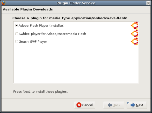 Firefox Plugin Finder Service