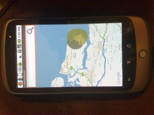 android sensorly map viewer kent
