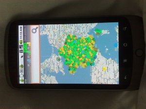 sensorly mapview android cloud app