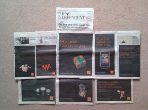 the independent, orange, 2010, election special !