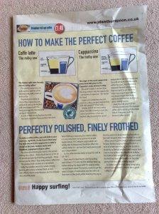 wetherspoons coffee